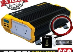 Review: KRIËGER 1100 Watt 12V Power Inverter